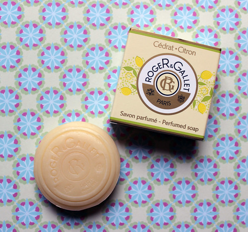 Roger and Gallet flash box soap