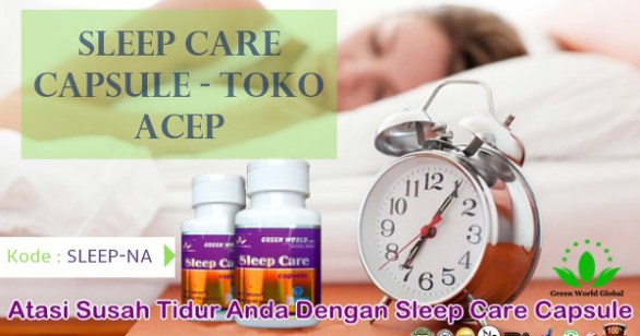 Sleep Care Capsule Green World
