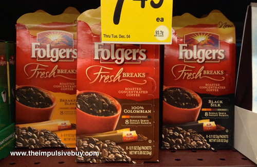 Folgers Fresh Breaks