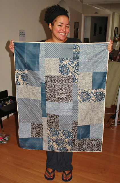 Two Little Banshees Quilt for baby boy