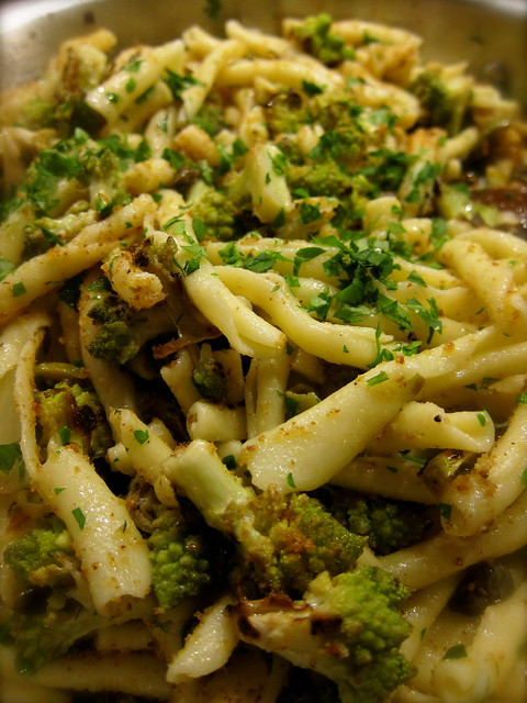 Strozzapreti with Romanesco