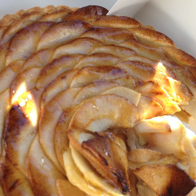 My favorite apple tart from the French nuns