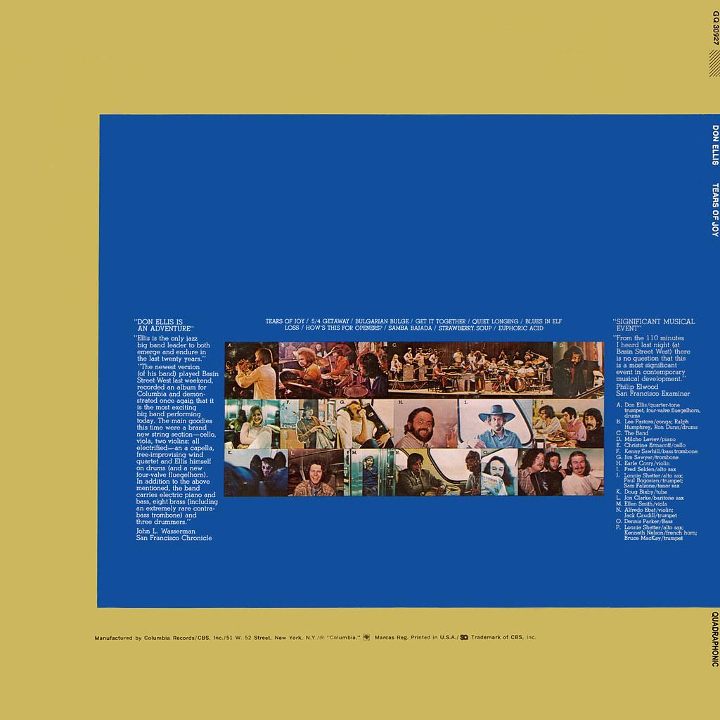 Don Ellis - Tears Of Joy
