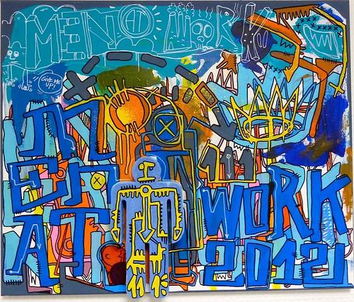 Blue man by Tarek by Pegasus & Co