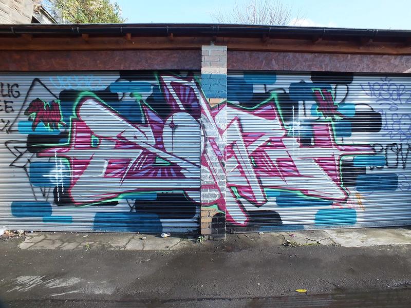 Street Art at Trackside, Cathays