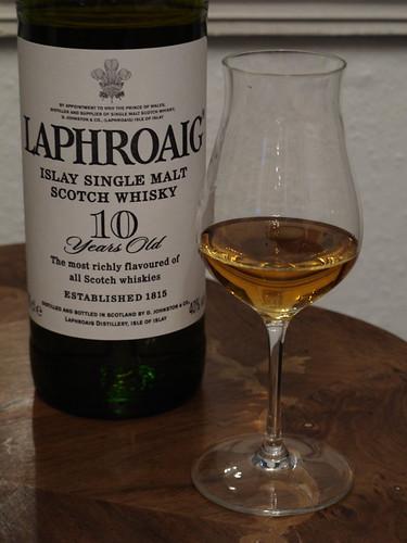 Laphroaig (Single Malt Whisky, 10 Jahre alt, 40 % vol)