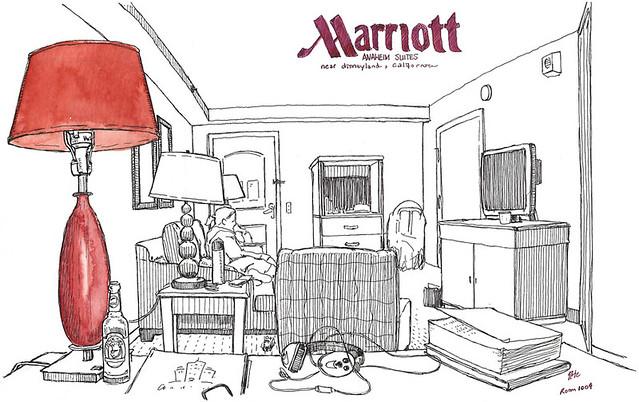 Marriot Hotel Anaheim