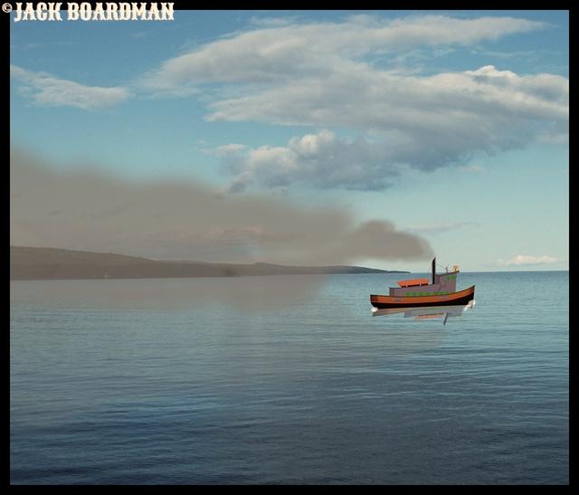 The Casino Boat departed Grand Marais