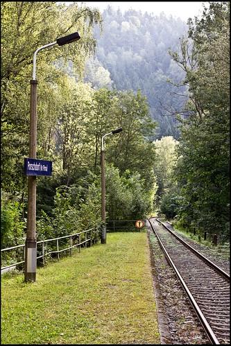 Porschdorfer Bahnhof