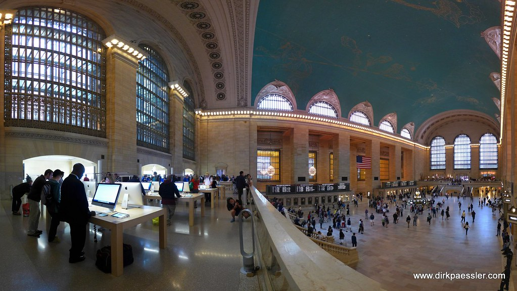 Grand Central Station, New York City by Dirk Paessler