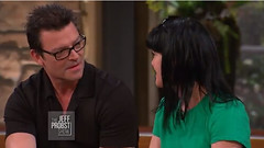 Thomas Arklie and Pauley Perrette