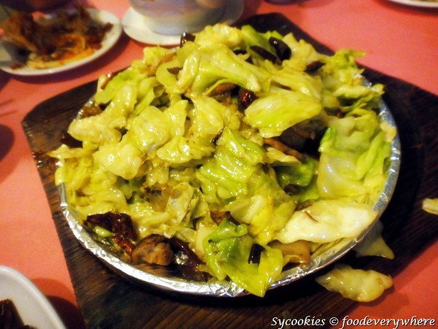7.Stir fried Beijing Cabbage (B) RM 30, 20, 15 @restaurant de huan (18)_