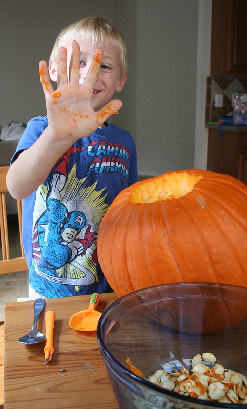 Gutting the Pumpkin