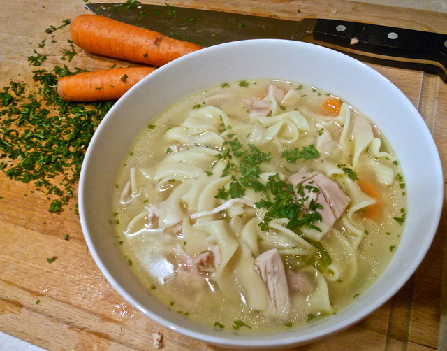 Emergency Chicken Noodle Soup
