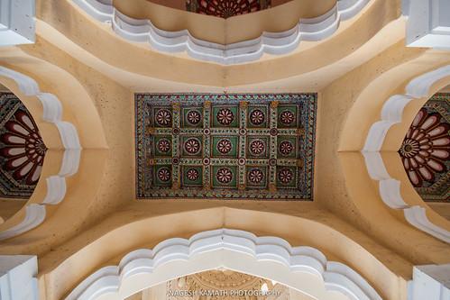 Ornate roof of Nayakkar Palace