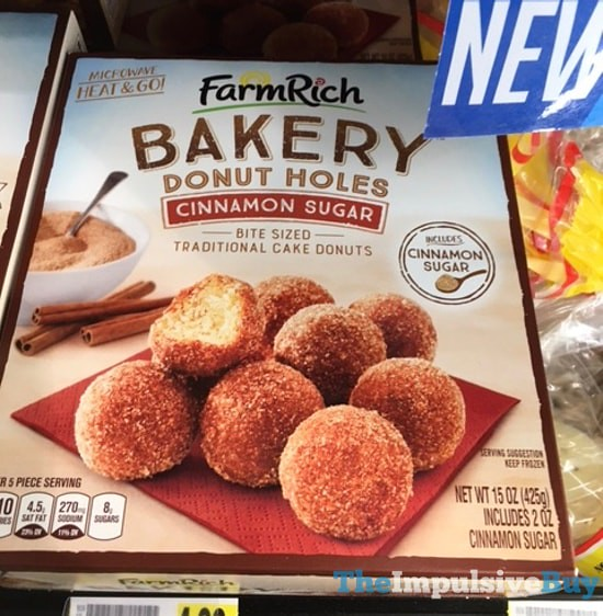 Farm Rich Bakery Cinnamon Sugar Donut Holes