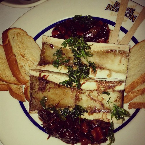 Bone Marrow & Oxtail Marmalade at Blue Ribbon Brooklyn