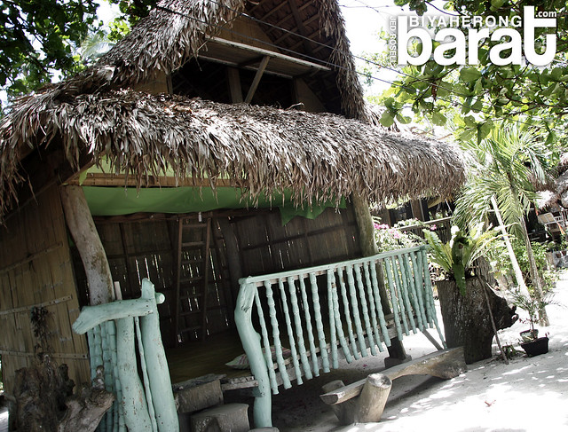 Huts in Pansacola Resort Cagbalete Island Quezon Province