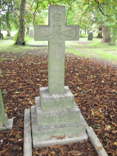 Robert Watson Boyd, Champion Sculler, Linthorpe Cemetery, Middlesbrough.