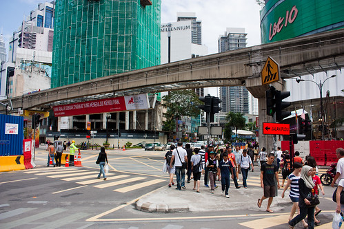 Bukit Bintang crossing