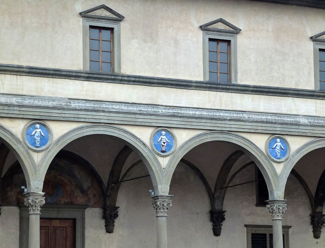 Florence - jour 4 - 002 - Spedale degli Innocenti