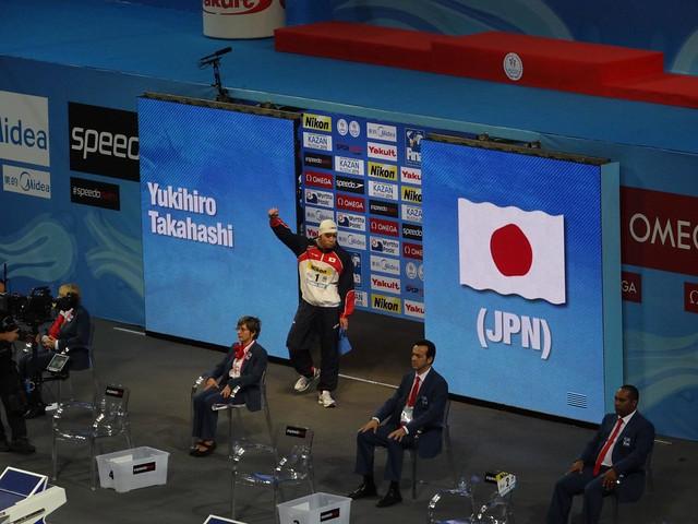 Yukihiro Takahashi enters the Istanbul 2012 arena