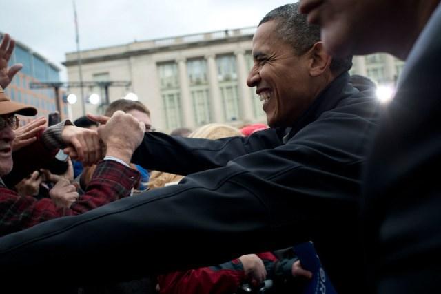 Barack Obama in Madison - November 5th