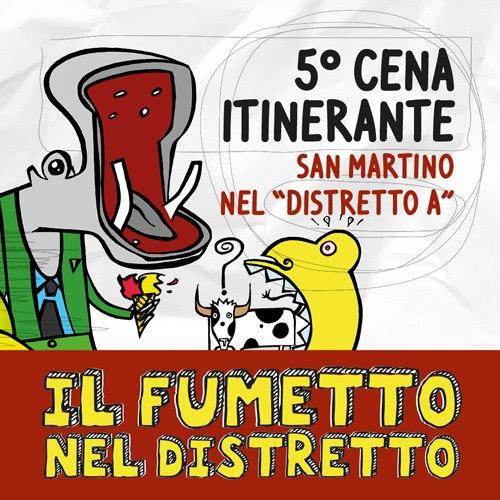 Cena Itinerante Distretto A by bertiste