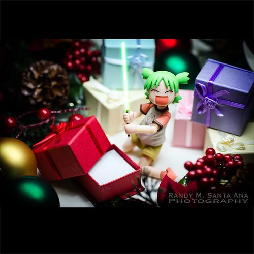Yotsuba Lightsaber Christmas.