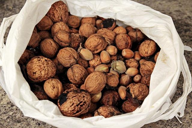 free nuts!