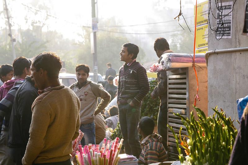 Mehrauli Flower Market_MG_2597November 19, 2012