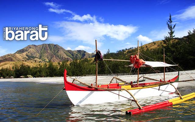 boat in silanguin cove san antonio zambales