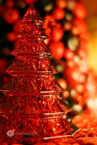 "3. ""Red"" Glassy Red Tree by courtneyec90"