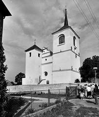 Brozany, kostel sv. Gottharda