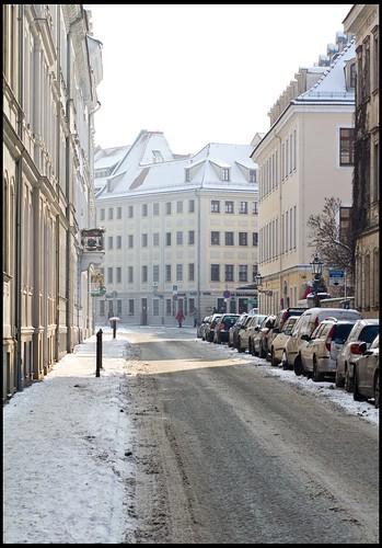 die innere Neustadt im Winter