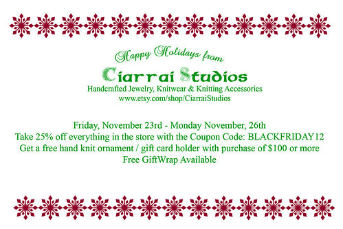 Ciarrai Studios Holiday Card