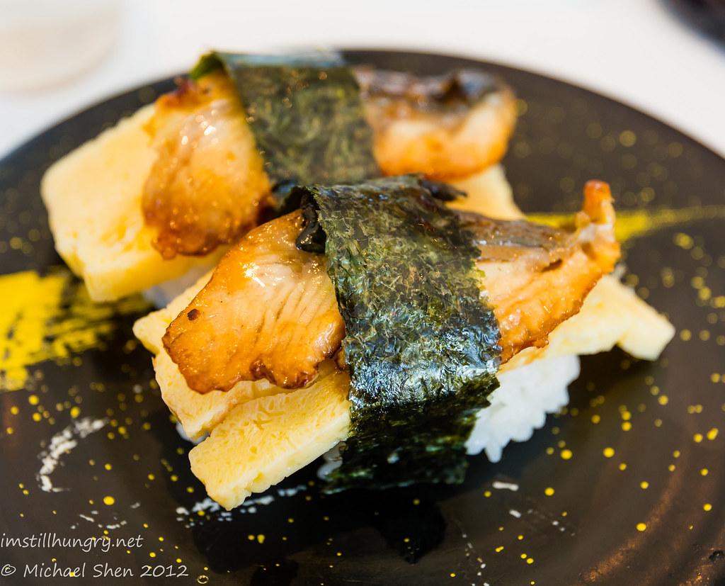 Takumi unagi tamagoyaki nigiri sushi