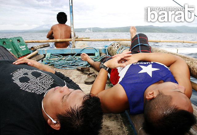 tired from Cagbalete Island Vacation