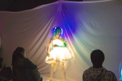 電飾ウェディングドレス