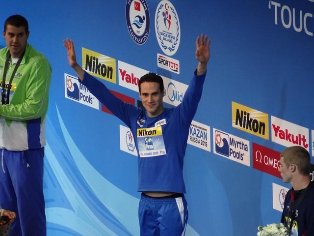 Fabio Scozzoli 2012 World Champ in the 100 Breast