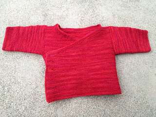 Red baby sweater!