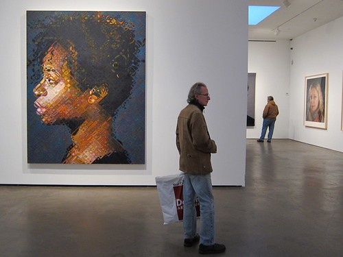 Chuck Close: Kara, at Pace by Scoboco