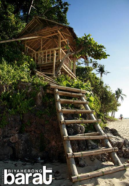 Hut in Puka Beach Boracay 2012