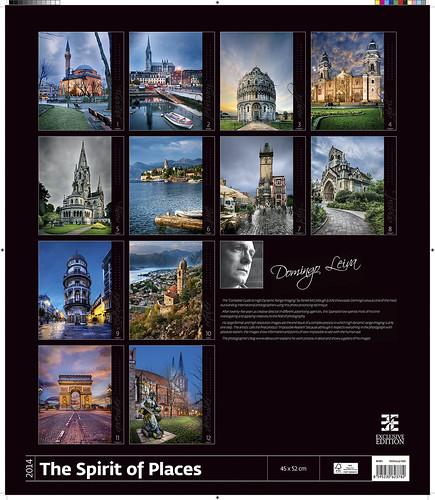 Fotos de Domingo Leiva en el calendario The Spirit of Place publicado por Helman 365