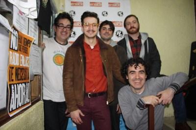 Con David, Brian y Juan Diego de Tuya en La Isla de Encanta
