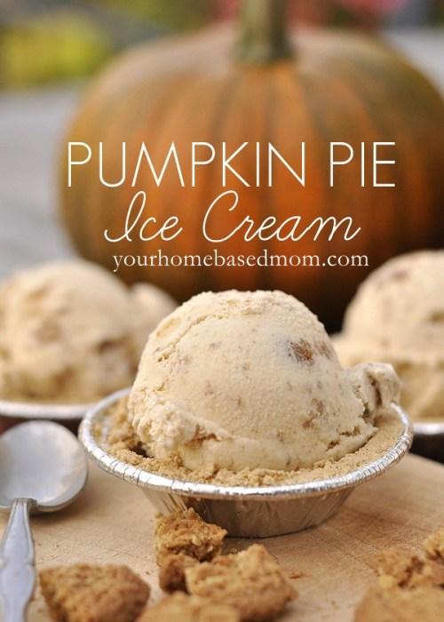 pumpkin pie ice creamrs