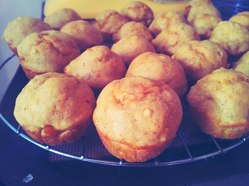 Ginger Sweet Potato Muffins
