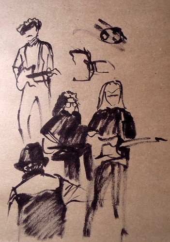 Sketches of musicians