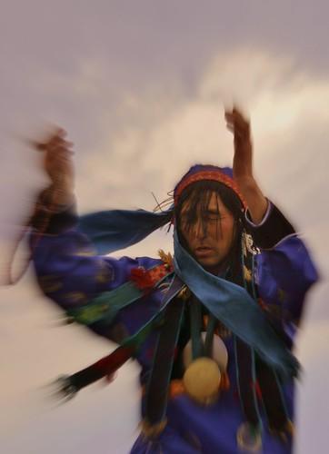 Buryat shaman Sandan