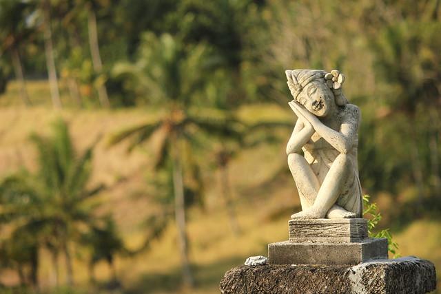 Bali Masari statue